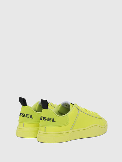 Diesel - S-CLEVER LOW LACE W, Yellow Fluo - Sneakers - Image 3