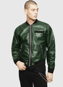 L-PINS-A, Green - Leather jackets
