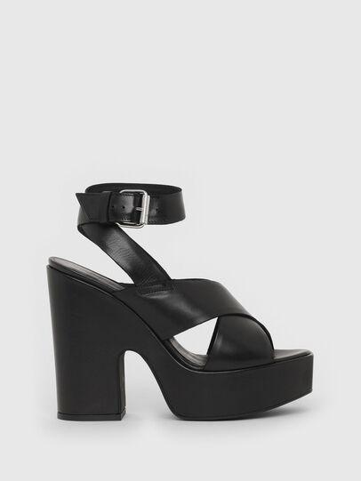 Diesel - SA-JULIA, Black - Sandals - Image 1