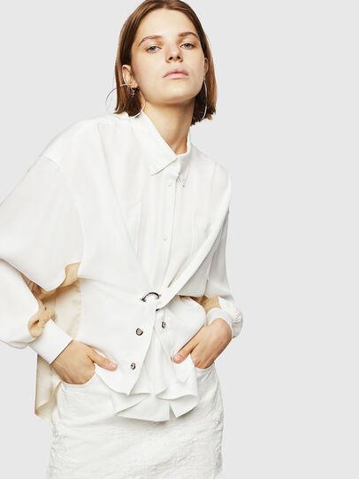 Diesel - C-LEXYS, White - Shirts - Image 5