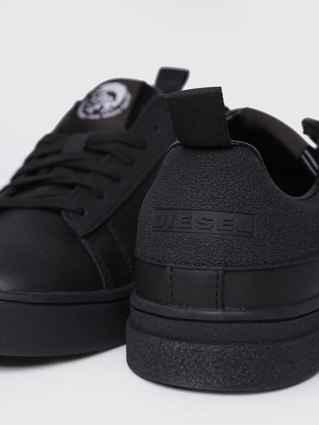 Diesel - S-CLEVER LOW W, Black - Sneakers - Image 4
