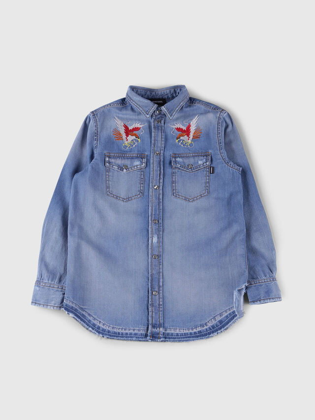 Diesel - CDROOKE OVER, Blue Jeans - Shirts - Image 1