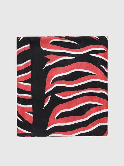Diesel - SLUCAS, Black/Red - Scarf - Image 1