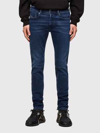 Diesel - Sleenker 009QI, Dark Blue - Jeans - Image 1