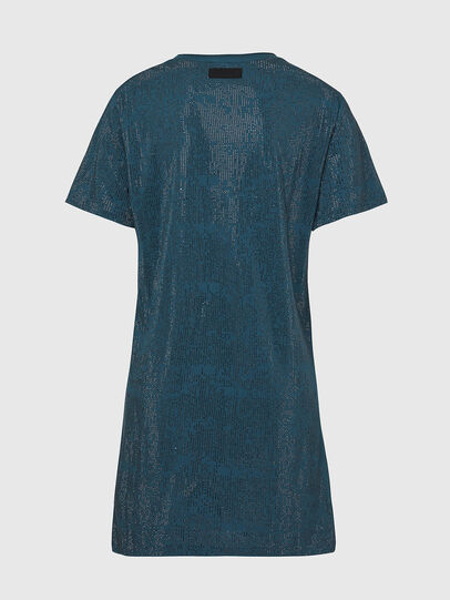 Diesel - D-ARY-E1, Water Green - Dresses - Image 2