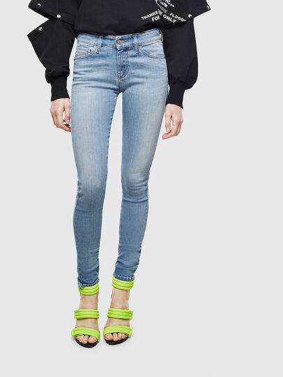 Diesel - Slandy 0096L, Light Blue - Jeans - Image 1