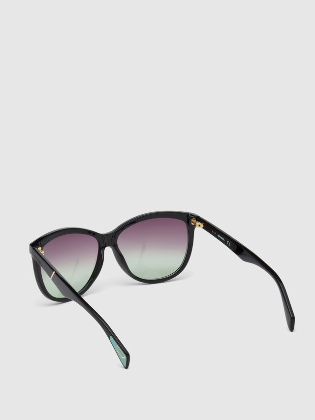 Diesel - DL0221, Black - Sunglasses - Image 2