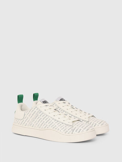 Diesel - S-CLEVER LOW LACE, White/Green - Sneakers - Image 2