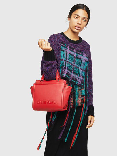 Diesel - BADIA, Fire Red - Satchels and Handbags - Image 6