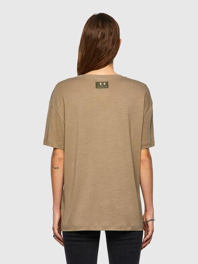 Diesel - T-ENKA-C.C, Light Brown - T-Shirts - Image 2