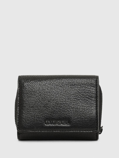 Diesel - SPEJAP, Black/Green - Small Wallets - Image 1