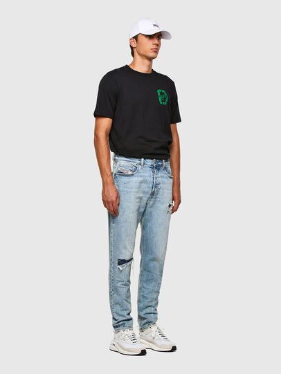 Diesel - D-Vider 009JR, Light Blue - Jeans - Image 7