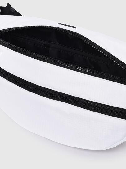 Diesel - F-URBHANITY BUMBAG, White - Belt bags - Image 4