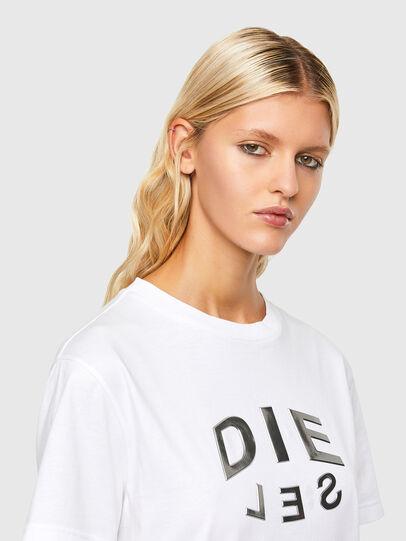 Diesel - T-DARIA-R1, White - T-Shirts - Image 3