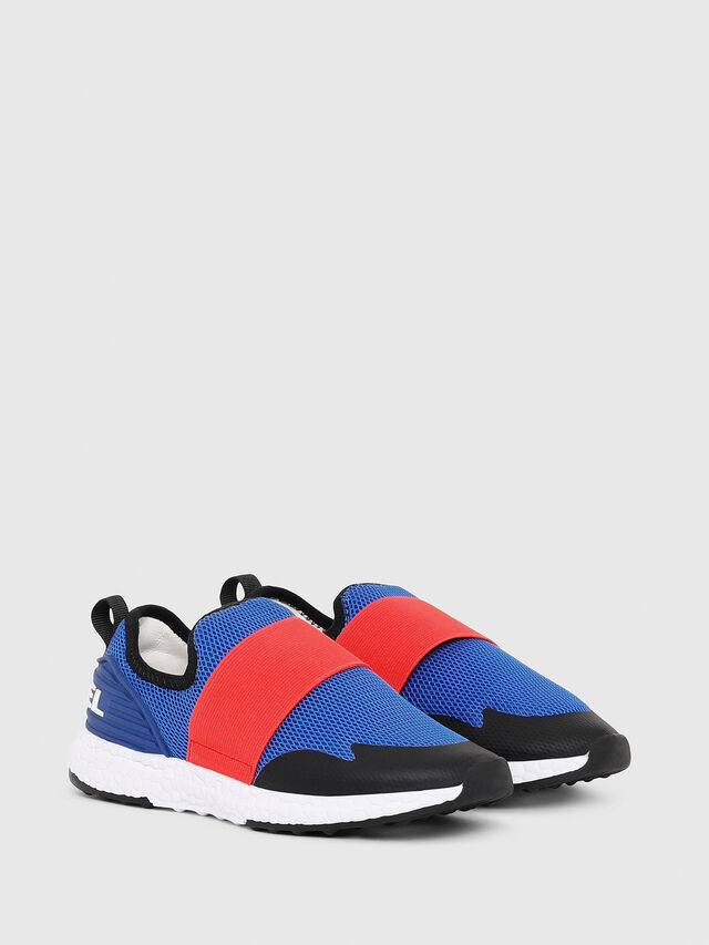 Diesel - SN SLIP ON 16 ELASTI, Blue/Red - Footwear - Image 3