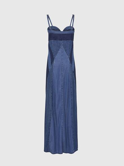 Diesel - DE-ARYNA, Light Blue - Dresses - Image 2