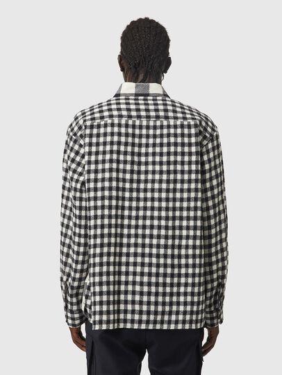 Diesel - S-BUNNEL-CHECK, Black/White - Shirts - Image 2