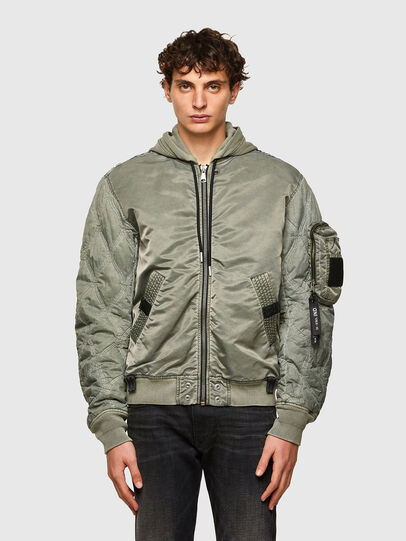 Diesel - J-LAGASH, Military Green - Jackets - Image 1