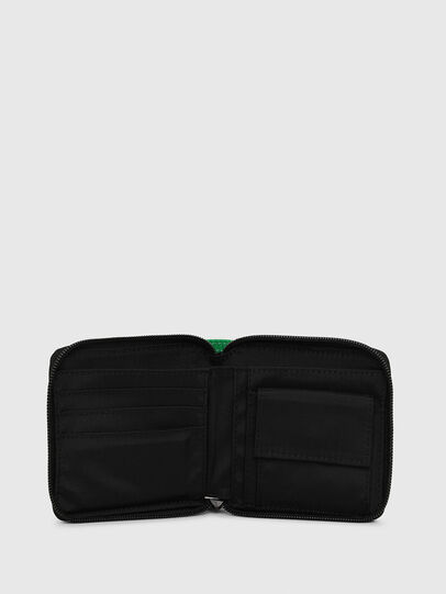 Diesel - ZIPPY HIRESH S, Green - Zip-Round Wallets - Image 3