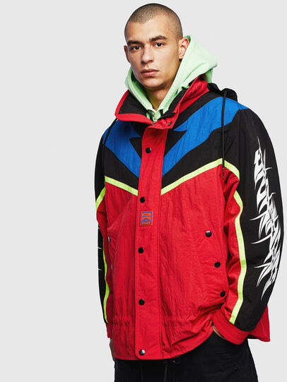 Diesel - J-BENDER, Red - Jackets - Image 1