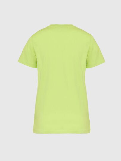 Diesel - T-SILY-E52, Green Fluo - T-Shirts - Image 2
