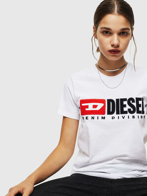 T-SILY-DIVISION, White - T-Shirts