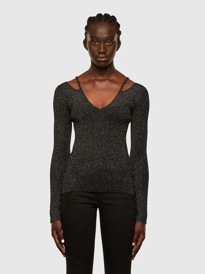 Diesel - M-AMBER, Black - Knitwear - Image 1