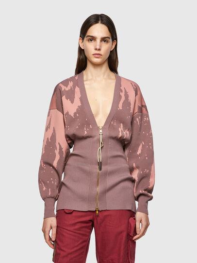 Diesel - M-ATLANTIC, Pink - Knitwear - Image 1