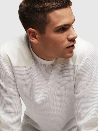 Diesel - K-LESTER, White - Knitwear - Image 5