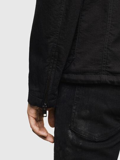 Diesel - D-GYACK JOGGJEANS, Black - Denim Jackets - Image 5