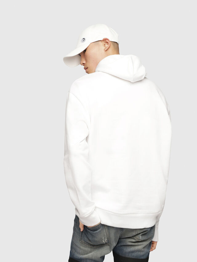 Diesel - S-AFTER, White - Sweaters - Image 2