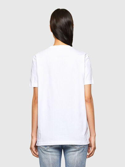 Diesel - CL-T-DIEGOS-O2, White - T-Shirts - Image 4