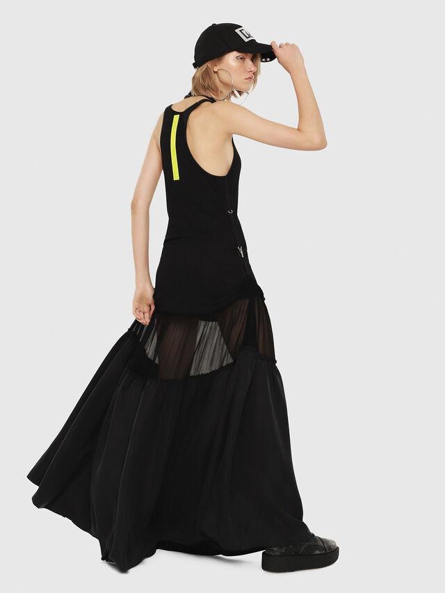 Diesel - D-SAIGE, Black - Dresses - Image 2