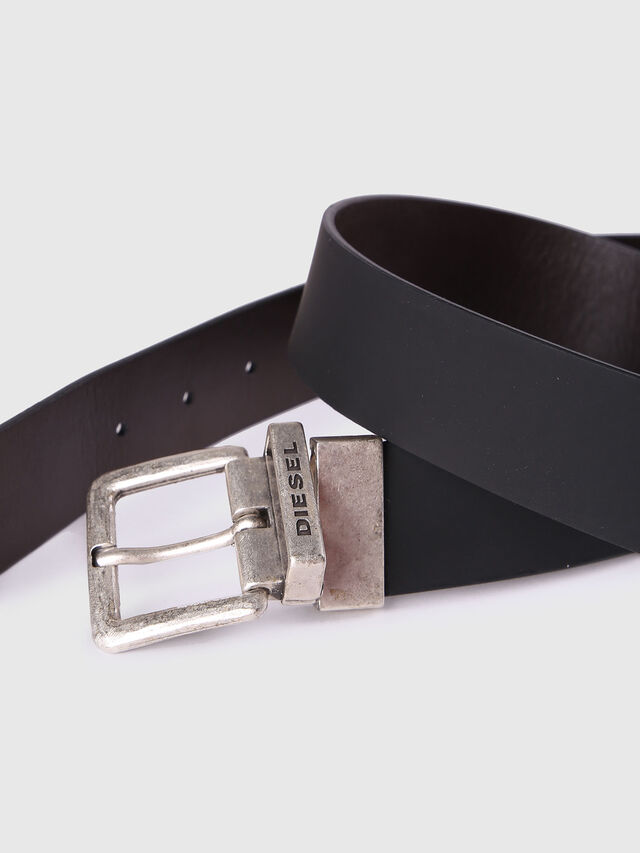 Diesel B-DOUBLEC, Black/Brown - Belts - Image 3