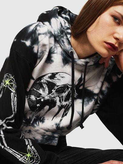Diesel - S-ALBY-Y, Black/White - Sweaters - Image 2
