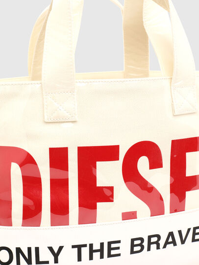 Diesel - ASTI, White - Shopping and Shoulder Bags - Image 7