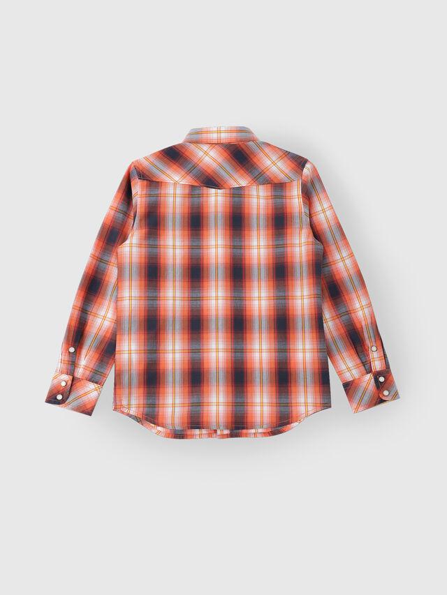 Diesel - CSEASTX, Orange/White - Shirts - Image 2