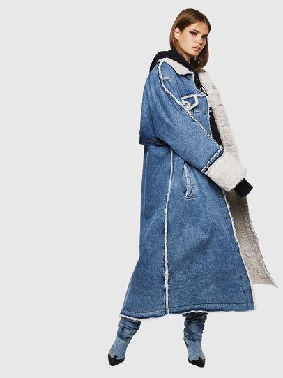 Diesel - DE-VALY, Medium blue - Winter Jackets - Image 6