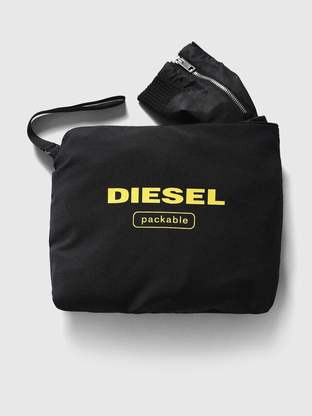 Diesel - J-FOLLYER, Black - Jackets - Image 3