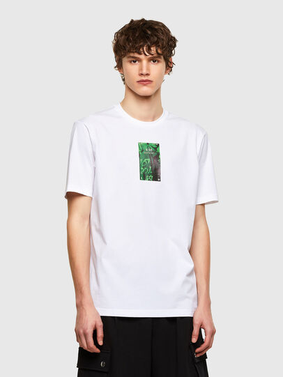 Diesel - T-JUST-E11, White - T-Shirts - Image 1