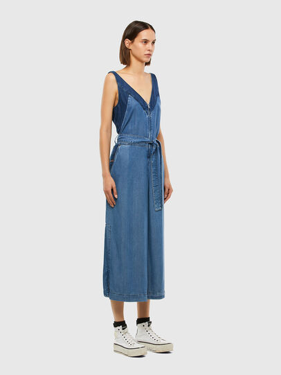 Diesel - DE-LORYNA, Medium blue - Jumpsuits - Image 6