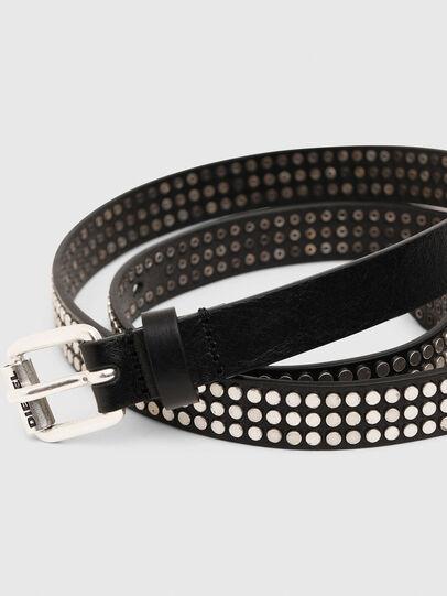 Diesel - B-STUDALL, Black - Belts - Image 2