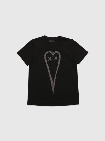 Diesel - TSILYHEART, Black - T-shirts and Tops - Image 1