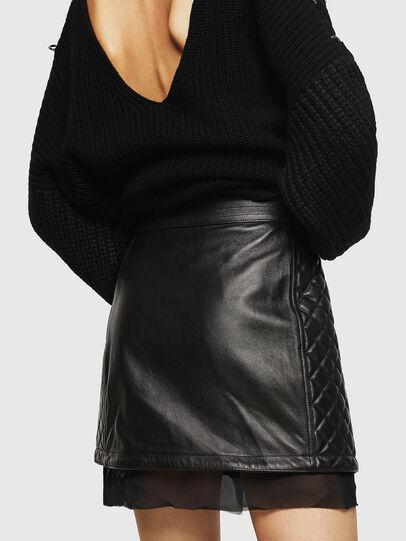 Diesel - OLESIA,  - Leather skirts - Image 2