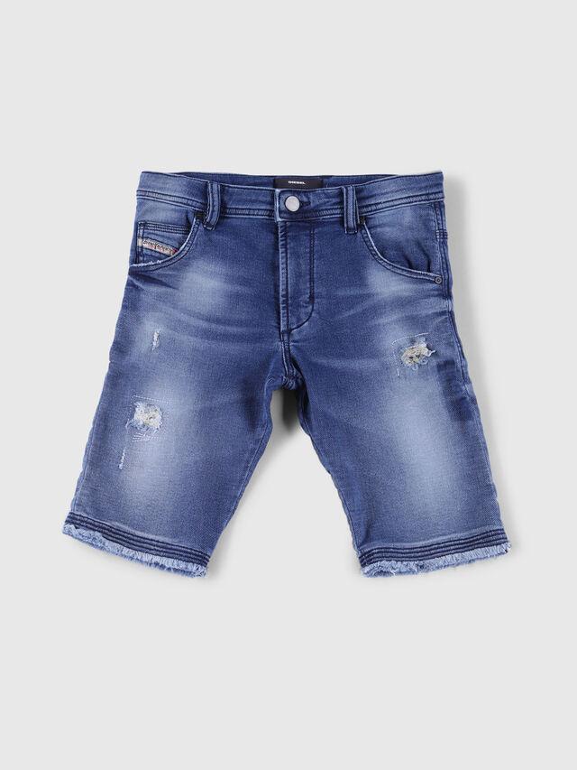 Diesel - PROOLI-N JOGGJEANS, Blue Jeans - Shorts - Image 1