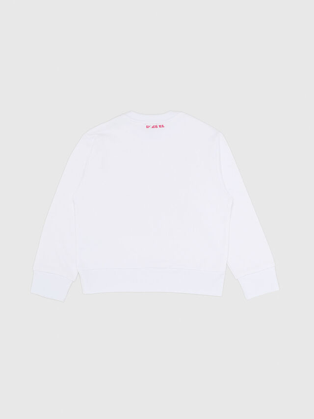 Diesel - SBAYX OVER, White/Pink - Sweaters - Image 2