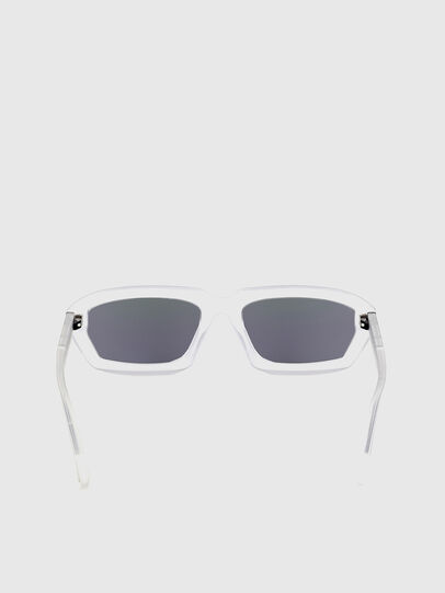 Diesel - DL0347, White - Sunglasses - Image 4