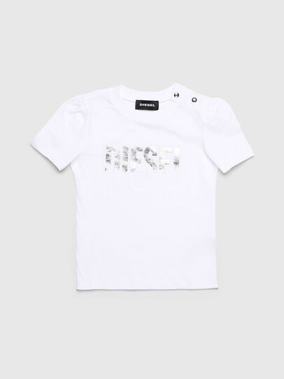 Diesel - TRALLYB, White - T-shirts and Tops - Image 1