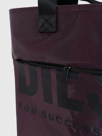 Diesel - F-BOLD SHOPPER III, Dark Violet - Shopping and Shoulder Bags - Image 5