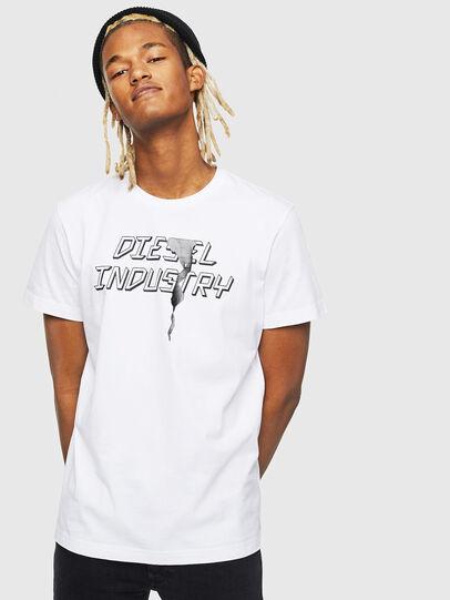 Diesel - T-DIEGO-J25, White - T-Shirts - Image 1